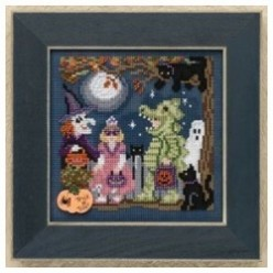 Halloween Beaded Cross Stitch Kits
