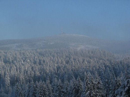 Summit of Brocken Mountain
