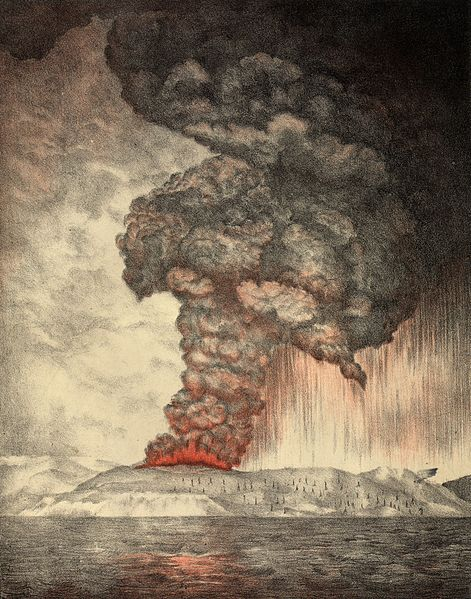 1883 eruption of Krakatoa.