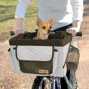 Pet Bicycle Seat (Dog Car Seat) - Gray.