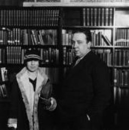 Alfred and Wife, 1926