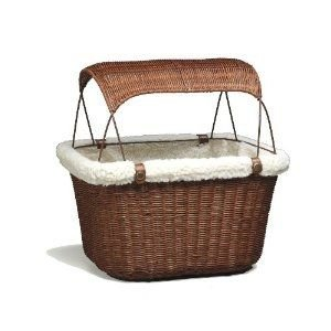 Tagalong Wicker Bicycle Basket.