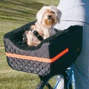 Snoozer Pet Rider Bicycle Seat For Pets Up To 24lb.