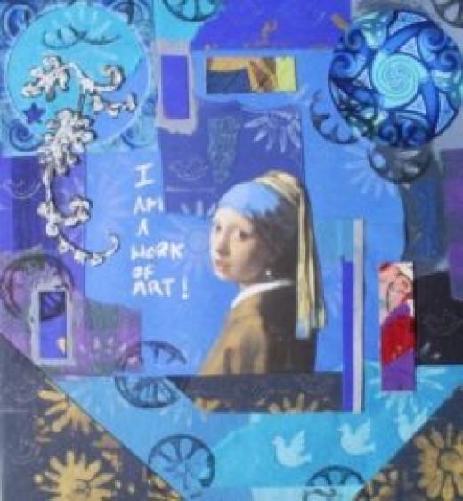 collage in fine art,