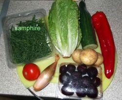 samphire salad ingredients