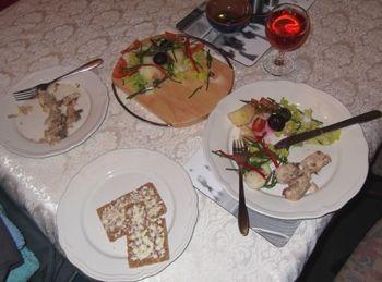 mackeral and samphire salad