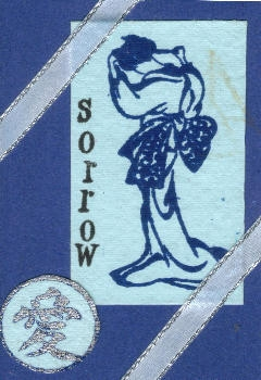 atc stamped blue sorrow