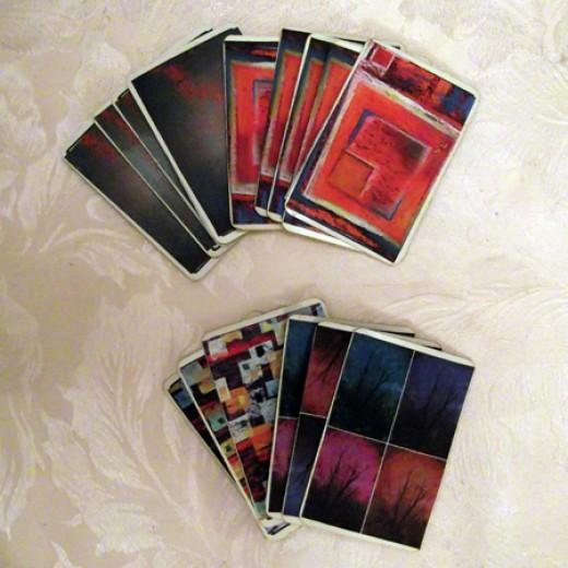 Four Creative Card Decks
