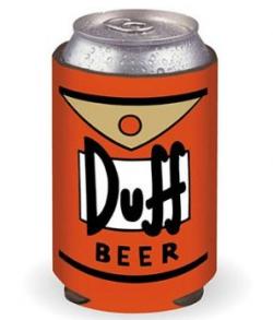 Duff Beer Can Koozie