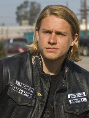 Jax wearing his SAMCRO jacket