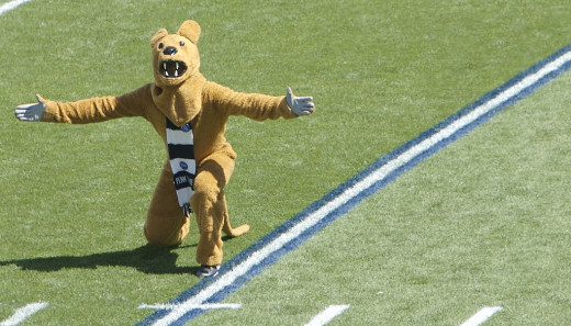 Penn State Nittany Lion sports and school mascot. The school's lunar lander seemed destined to be the Lunar Lion.