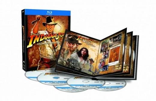 Indiana Jones: The Complete Adventures Blu-ray Movie Boxed Set