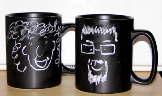 Chalkboard Coffee Mug Artwork