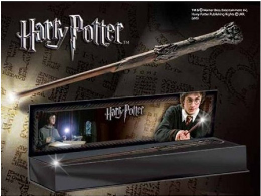 Harry Potter Noble Collection Wands