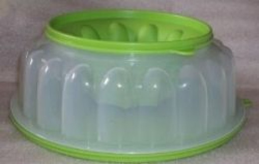 Tupperware Salad Mold
