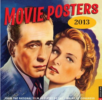 Movie Posters Calendar 2013