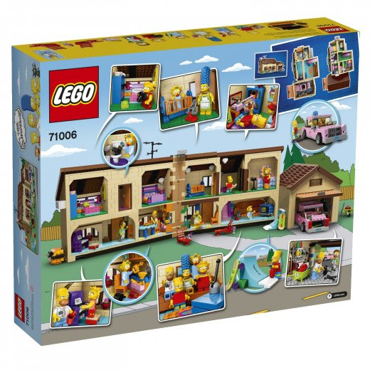 The exterior of the Lego box.