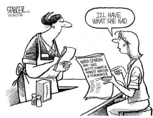 Nora Ephron Comic