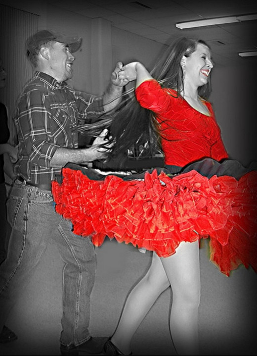 Dance in Red