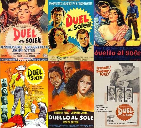 Duel in the Sun Movie Posters