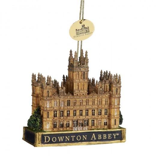 Kurt Adler Downton Abbey Castle Christmas Ornament