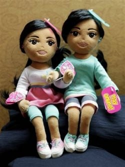 Sasha &  Malia Obama Beanie Babies