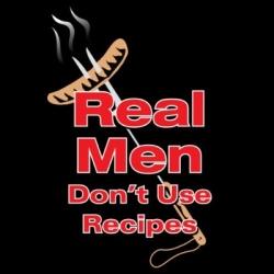 Real Men Don't Use Recipes Apron