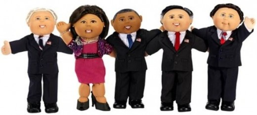 2012 Presidential Cabbage Patch Kid Dolls