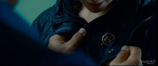 The Mockingjay Pin in the Movie