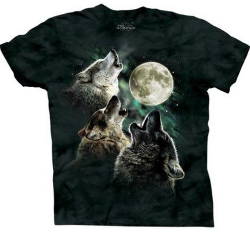 The Three Wolves Mountain T-Shirt