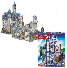 Wrebbits 3D Neuschwanstein Castle Jigsaw Puzzle