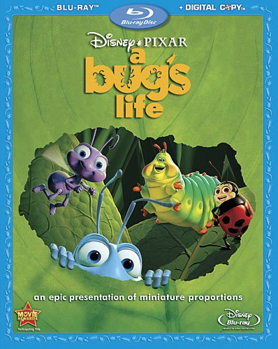 A Bug's Life on Blu-ray