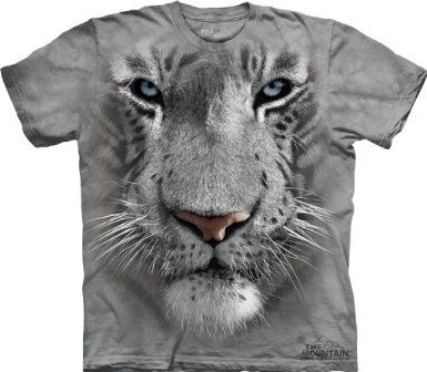 The White Tiger Face T-Shirt