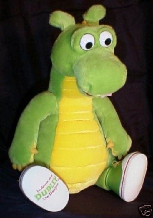 Dudley the Dragon Plush Toy