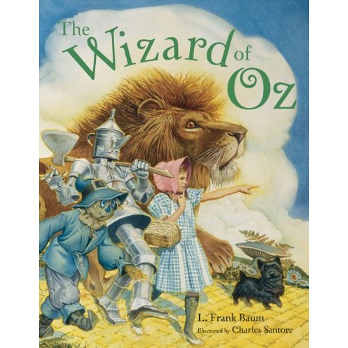 The Wizard Of Oz Abridged Picture Book by Charles Santore