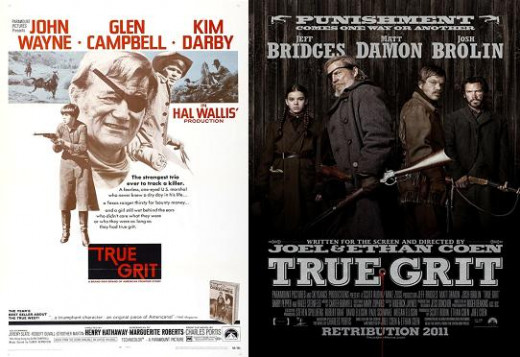 True Grit 1969 and 2010