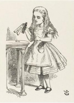 Alice in Wonderland Artwork by John Tenniel