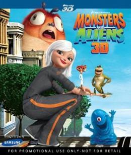 Monsters vs Aliens 3D