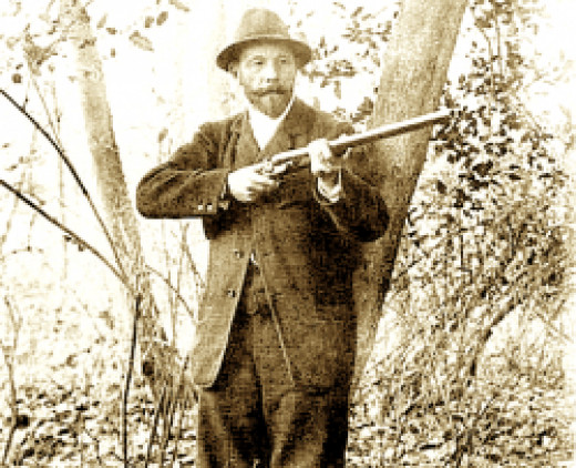 1900 Olympic Games' Pigeon Shooting event.