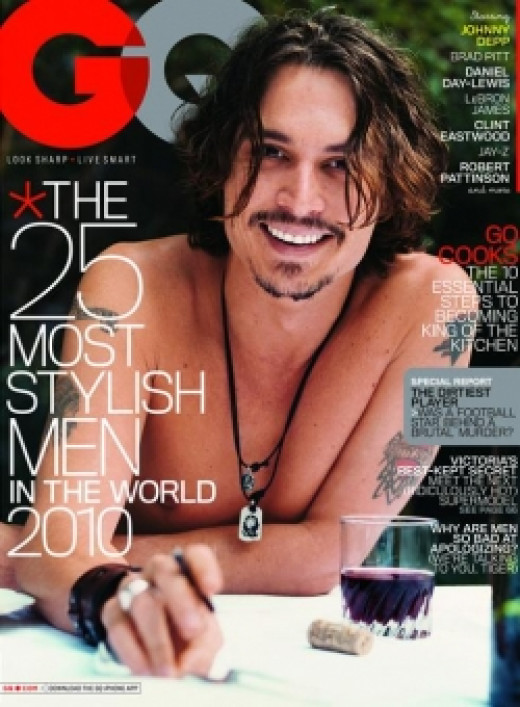 Johnny Depp Magazine Covers