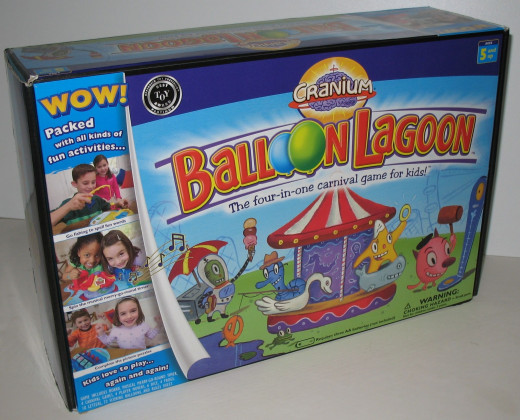 Cranium Balloon Lagoon The Four-In-One Carnival Game For Kids