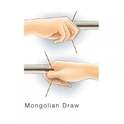 Mongolian Bow Draw Method