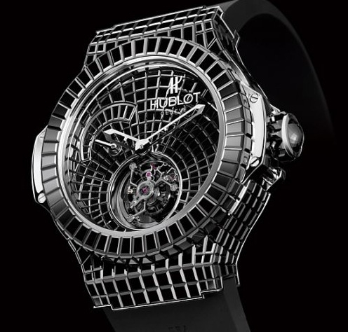 Hublot Black Caviar Bang Watch