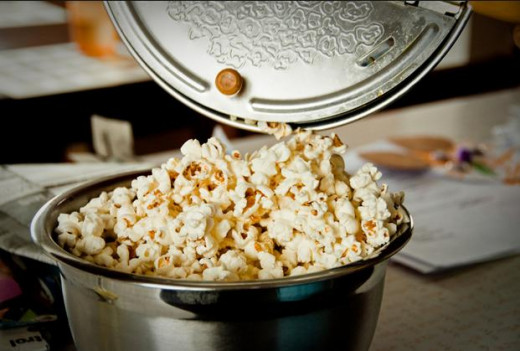 A Whirley Pop Popcorn Popper