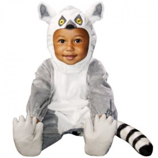 Animal Planet Ring Tail Lemur Costume