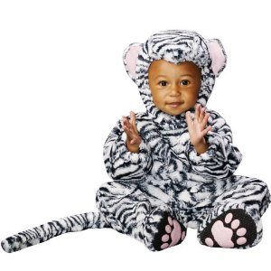 White Tiger Baby Costume