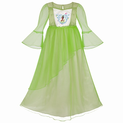 Disney's Tiana Princess Deluxe Nightgown