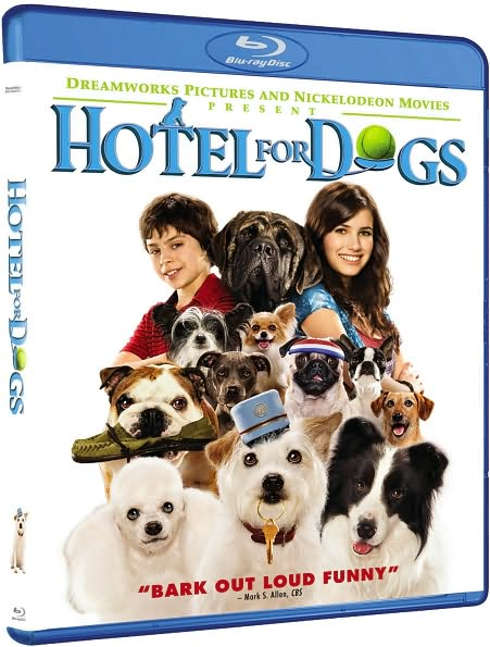 Hotel For Dogs Blu-ray