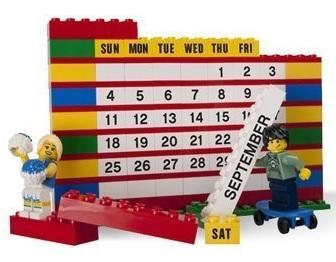 LEGO Bricks Calendar