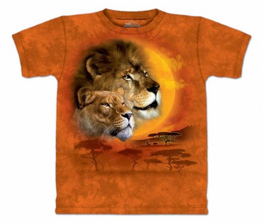 Wild Cats T-Shirt Featuring A Pride of Lions